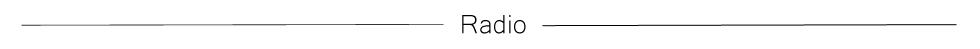 RadioTabs